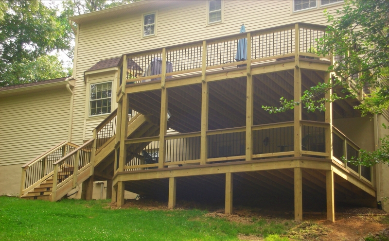 Screen Room and Deck Design