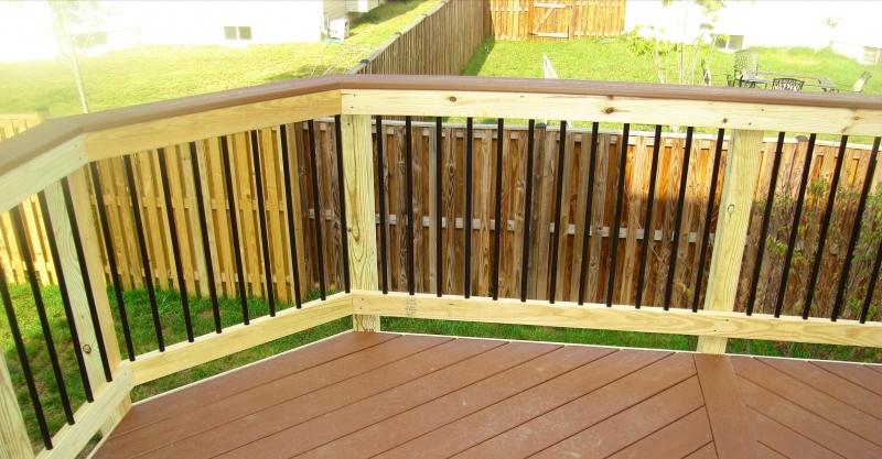 Deck Railing Design in Northern VA