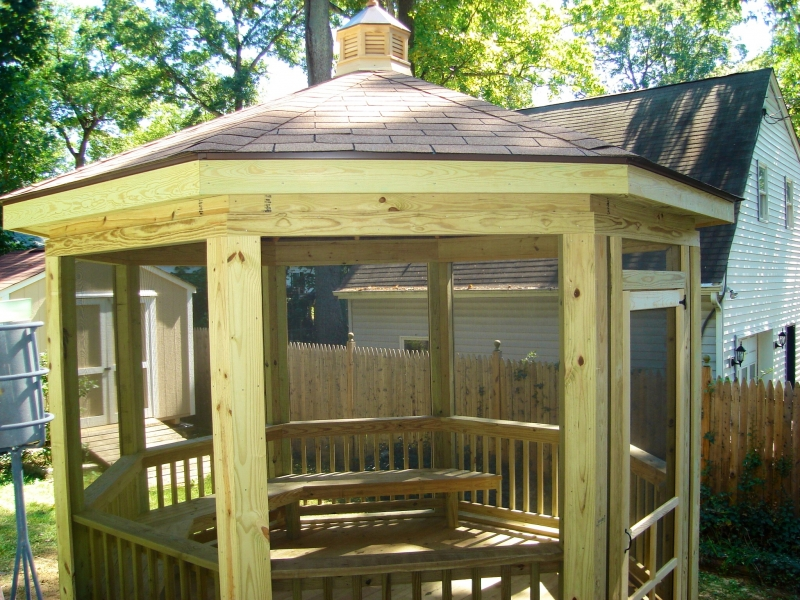 Gazebo and Deck Design by ProDeck