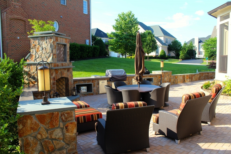 Custom Patios in Northern VA