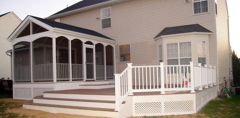 Deck and Screen Room Builders in VA