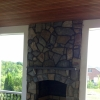 Warm Fireplace Design by ProDeck